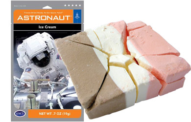 Astronaut Food Ice Cream space-food astronaut-ice-cream