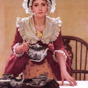 George Dunlop Leslie - Tea
