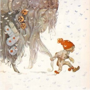 Julbocken by John Bauer