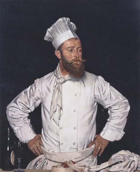 Sir William Orpen-Le Chef de l'Hotel Chatham