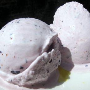 Blueberry Yoghurt ice cream