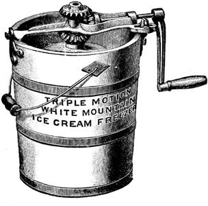 On ice cream machines Ice maker maker