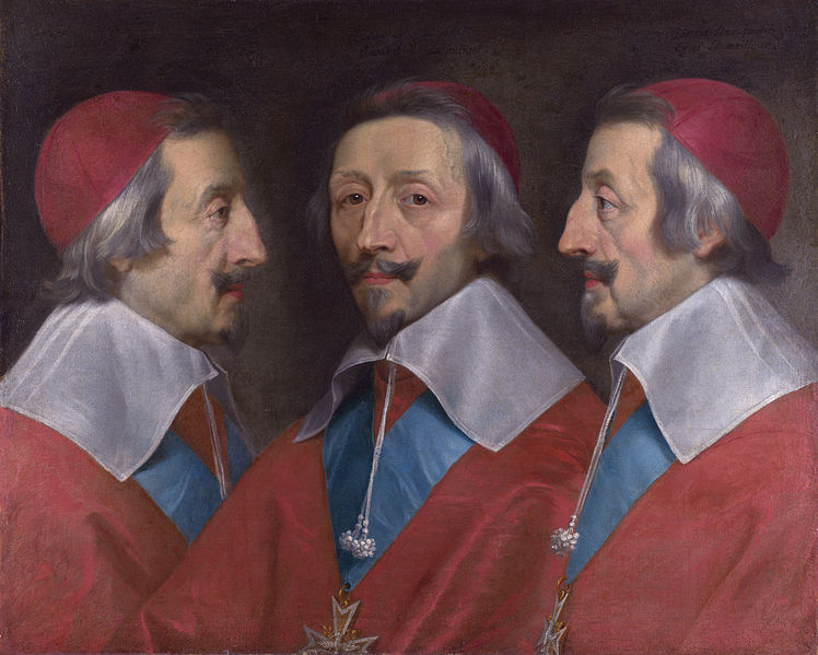 Cardinal de Richelieu, probably one of the most well-known cardinals