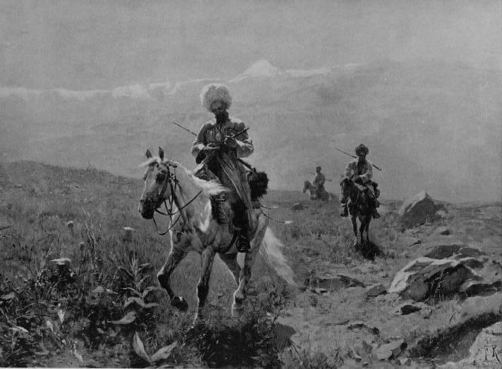 Riders of the Caucasus