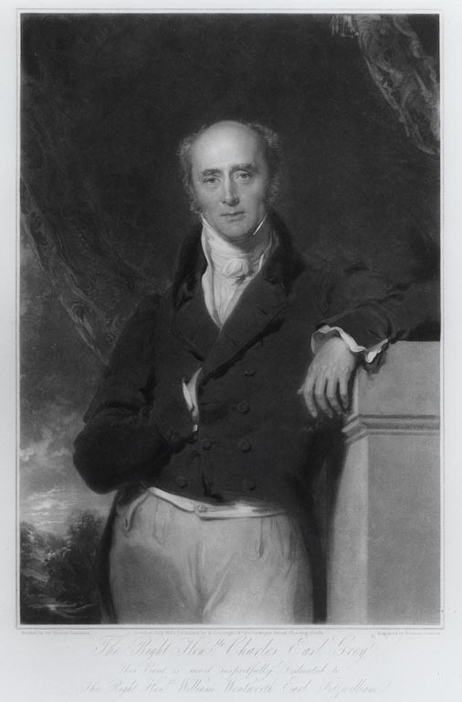 Charles Grey, 2nd Earl Grey (1764-1845). UK Prime minister and the man who gave the famous tea-blend its name.