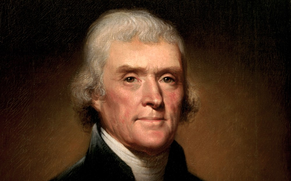 Thomas Jefferson by Peale