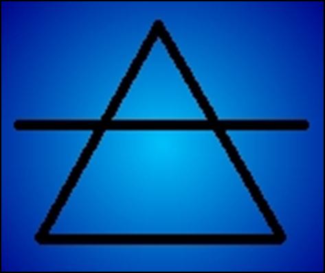 alchemical symbol air