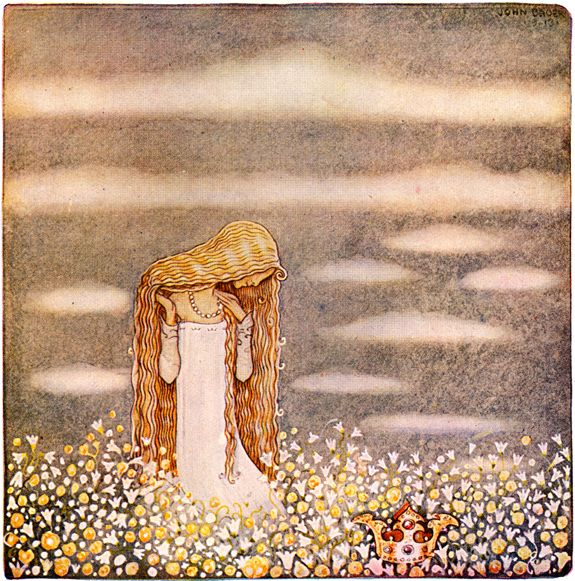 nordic thoughts by john bauer