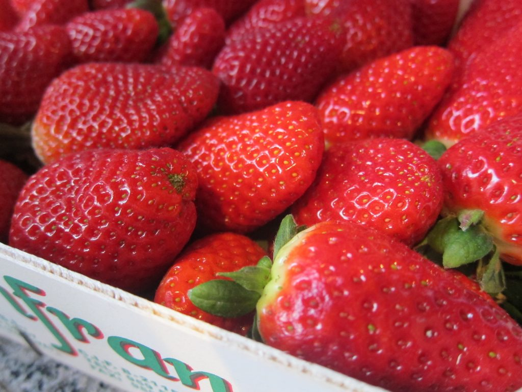 Fresh strawberries - great both in their natural form and as a prime ice cream flavour